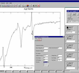 Auger Data Acquisition Software