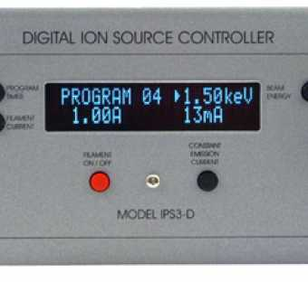 IPS3-D - Digital Ion Sputter Gun Controller