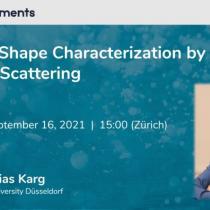 Webinar 16/09/2021 - Caratterizzazione della forma delle particelle con Light Scattering