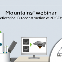 Best practices for 3D reconstruction of 2D SEM images -  Thu, Sep 17, 2020 3:00 PM - 4:00 PM CEST