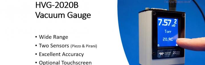 Video sul nuovo vacuometro digitale HVG-2020B