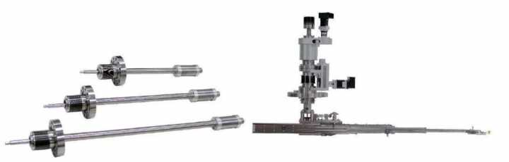 Sample Transfer Devices for HV and UHV Systems