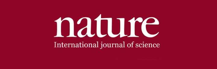 Il logo della rivista scientifica Nature