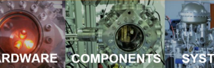 Hardware sistemi e componenti per Alto Vuoto HV e Ultra alto vuoto UHV