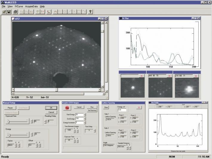 LEED Image Analysis System - LIM12