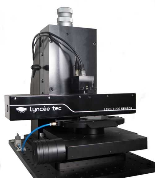 Lyncée Tec - Lens-Less sensor