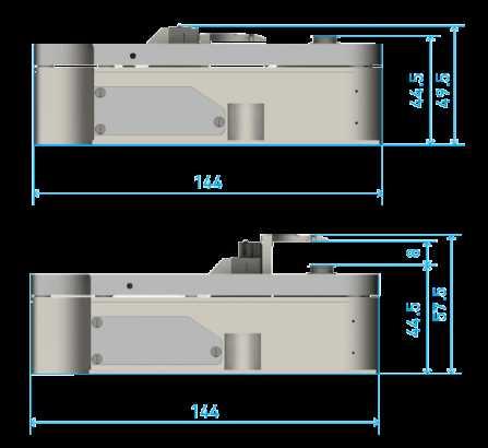 Dimensioni Litescope