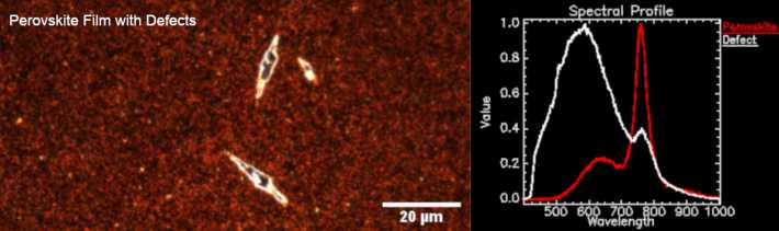 Perovskite Film with Defects