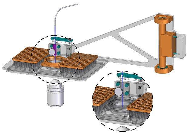 Robot Picking Single Cells