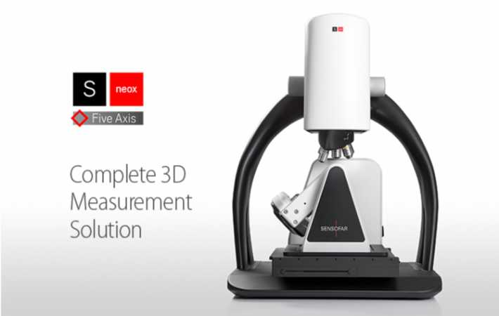 Profilometro ottico 3D S Neox Five Axis - Edizione 2019 - Soluzione completa di misura 3D