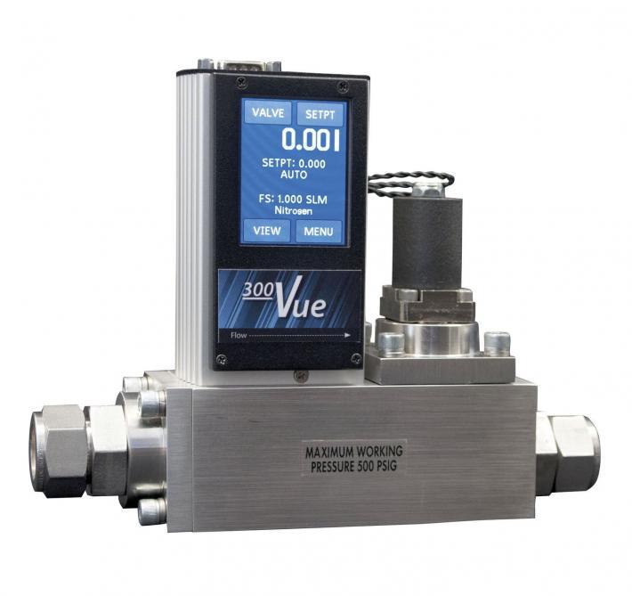 Serie 300 Vue - Flussimetri e controllori di flusso di massa digitali