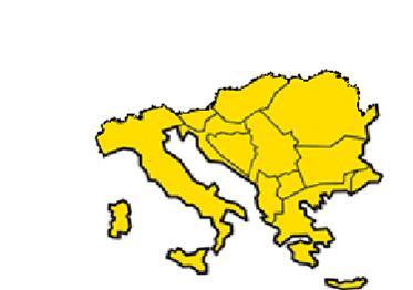 Il territorio coperto da Schaefer South-East Europe