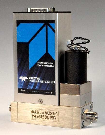 Nuovo controllore di flusso di massa serie HFC-D-300 Teledyne Hastings